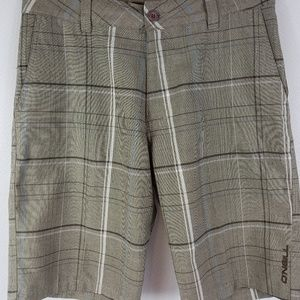 Men's O'Neill Golf Shorts Flat front Size 30